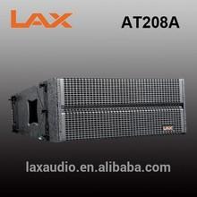 Professional speakers line array 2*8inch/active line array mini loudspeakers