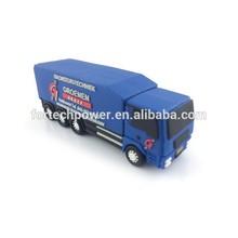 Top design truck shape usb memory flash