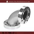 Tuv certificado de aço inoxidável encaixe de tubulação, vapor de aço inoxidável cotovelo