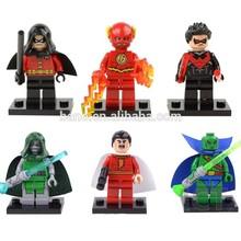super heroes buliding figures block good gift for kids DECOOL 0128-0133