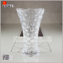 10 Inch height Home and Garden Crystal Vases