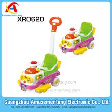 XR0620 Amusementang plastic kids toy tricycle,baby walking car