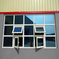 de calidad superior perfil superior de aluminio de ventanas de guillotina