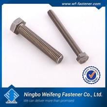 ASTM A453 GR660 A286 1.4944 GH2132 1.4980 Flat socket screw bolt DIN7991 manufacture&supplier&exporter