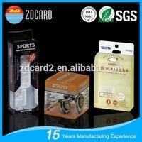 clear custom palstic golf club packaging box