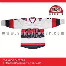 Mens White Color custom hockey jersey 2012