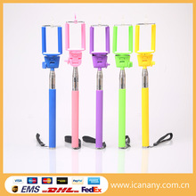 trend product grip poles extendable hand held monopod selfie stick for mobile phone camera