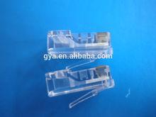 high performance connector unshielded/shielded rj45 modular plug