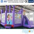 dora castelo bouncy inflável pulando para jogos de diversão infantil