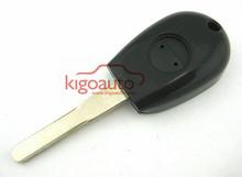 Black Transponder key blank for Alfa Romeo GTV Spider key blank