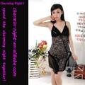 Fábrica fornece brilhando laço lingerie sexy vestido sexo lingerie estoque 8064#