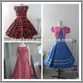 2015 novos estilos plus size por atacado caixa de rockabilly vestido floral impressão rockabilly vestido balanço retro vestido de festa