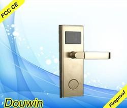 Magnetic card hotel network one side door lock