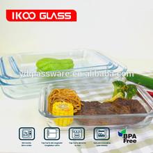 rectangular glass bake dished pan