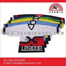 custom design sublimated sports full sublimation ice hockey tops