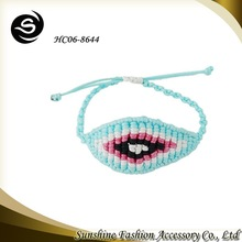 2015 new design jewelry fashion sunshine woven bracelet
