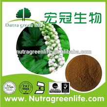 high quality black cohosh p.e./black cohosh powder extract/black cohosh root powder