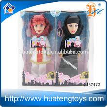 Custom high quality fashion lovely Muslim Baby Doll Arab woman baby Doll for kids H157472
