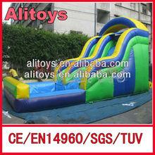 Ali 2015 Colorful children slide/Inflatable Jumping Slide for sale