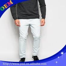 High Quality Mens Skinny Colorful Chino pants