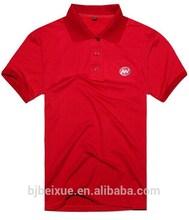 2015 new style 100% cotton OEM short sleeve polo shirt