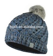 SDC16031 Roving Mixed Color Yarn of Acrylic Handmade Knit Hat