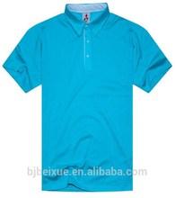 2015 OEM plain blank high quality factory direct sale polo shirt