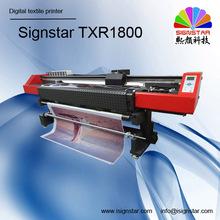 1,800mm digital textile printing machine for garment clothes