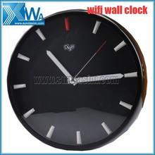 OEM-Multi-function P2P HD Digital Wall Clock wifi/Wifi Clock Camera/Wifi Wall Clock Camera