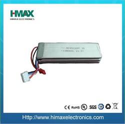 li-polymer 11.1V 5000mah rechargeable RC batteries battery packs