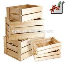 wood boxes for fruit vegetables HCGB-9212