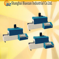 small shrink wrapping machine/pet bottle shrink wrapping machine, shrink machine, shrink packing machine