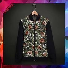 oem sublimation print neoprene custom bomber jackets