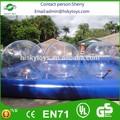 Brinquedo inflável do pvc estilo/tpu squishy esfera da água, a água splash bola de brinquedo, esfera da água de paintball