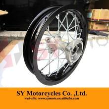 pit bike Aluminum 12 inch rear wheel with SDG hub