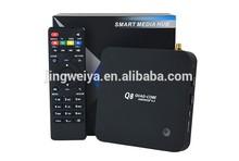 2015 new quad core full hd 1080p porn video android tv box 4.4.2 RK3288 2+8GB Q8 internet tv set top box