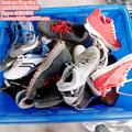 Tamanho grande barato usado sapatos femininos