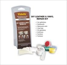 DIY leather repair vinyl glue
