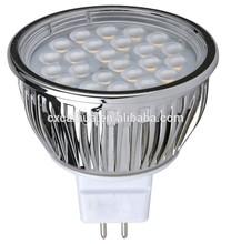 5W SMD led spotlight MR16 Equivalent To 60W 60 degree Beam Angle TRUE RETROFIT