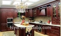 color painting wooden kitchen cabinet luxury kitchen set