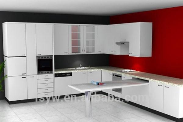Keuken Fineer Schilderen : veel kleur schilderen op houten keuken kast luxe keuken meubels-keuken
