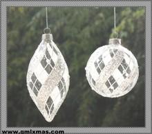 Popular christmas decorations plain christmas ball