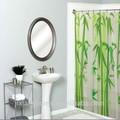 """70"""" x 72"""" fresco, novo design de alta qualidade hookless impressão de bambu cortina de chuveiro"""