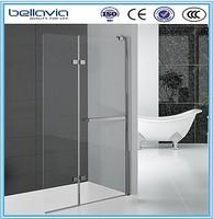 New design folding walk in shower bath shower screens free standing shower screen