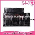 Cabelo sintético private label 18 pcs maquiagem / cosméticos brush set