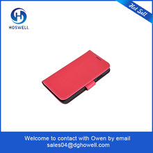 professional red leather mobile phone cases