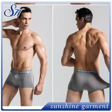 2015 fashion cotton/elastane men's boxer underwear