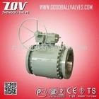 Forged High pressure Carbon steel ball valve 2000PSI,forjar ball velan