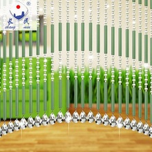 new design home decoration crystal beads door curtain