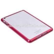 For Apple ipad mini Metallic/Aluminum Bumper Protective Case for ipad mini